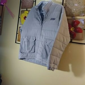 Seventh Division large Gray puff jacket
